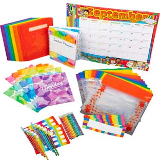 New School Year Teacher Kit - 1 multi-item kit