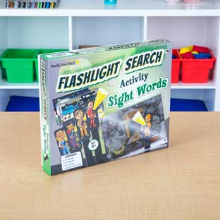 Flashlight Search Activity  Sight Words - 1 game