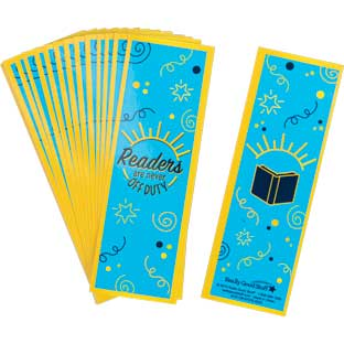 Teacher Off Duty Boookmarks - Set of 36