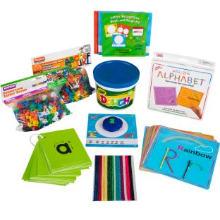 Learn Your Alphabet Sensory Kit