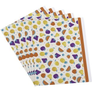Fruit File Folders - 5 folders