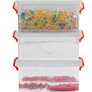 Sensory Bin Kit – 3 Stations - 1 multi-item kit