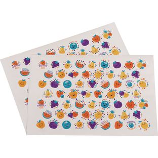 Fruit Stickers - 120 stickers