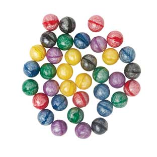 Galaxy Bouncy Balls - 36 balls