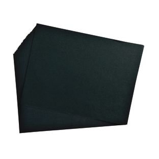 "Black 12"" x 18"" Heavyweight Construction Paper"