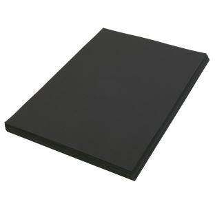 "Black 12"" x 18"" Heavyweight Construction Paper"