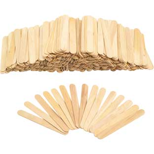 Colorations®  Large Wood Craft Sticks - 500 Pieces