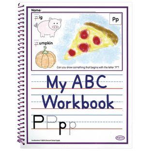 Excellerations® Alphabet Skills Workbooks - Set of 10