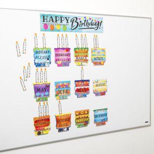 Jumbo Magnetic Birthday Display