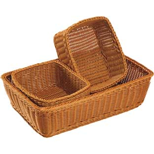 Washable Tray and Storage Baskets