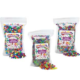 Set of all 3 Pony Beads - 3 lbs.