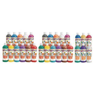 BioColor® Paint, Original, Fluorescent and Metallic Colors, 16 oz. - Set of All 26