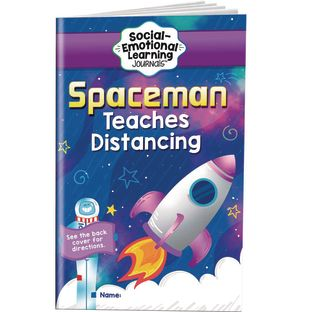 Spaceman Teaches Distancing Learning Journals - Grades Pre-K  1 - 24 journals