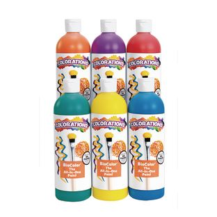 BioColor® 16 oz. Rainbow - 6 Pack