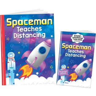 Spaceman Teaches Distancing Kit - Grades Pre-K - 1