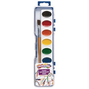 Colorations Washable Watercolors, 8 Colors ea