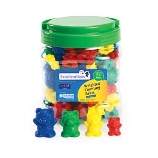 Excellerations Weighted Counting Bears - 96 Pieces