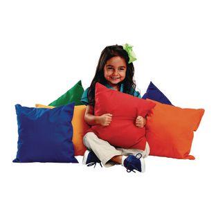 """Environments 12"""" Bright Pillows - Set of 6"""