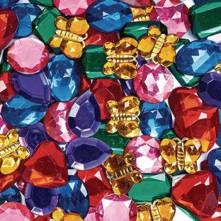 Colorations® Giant Glittering Rhinestones - 1 lb.