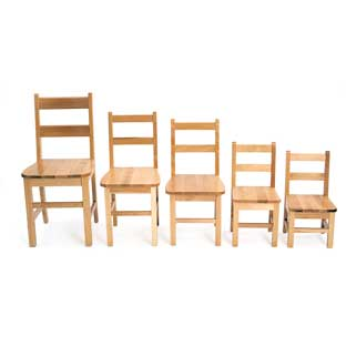 "16"" Birch Chairs - Set of 2"