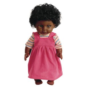 "16"" Multicultural Toddler Doll - African American Girl - 1 doll"
