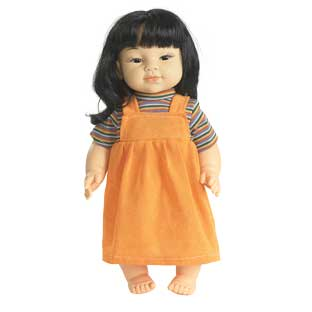 "16"" Multicultural Toddler Doll - Asian Girl - 1 doll"