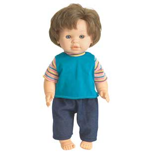 "16"" Multicultural Toddler Doll - Caucasian Boy - 1 doll"
