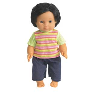 "16"" Multicultural Toddler Doll - Hispanic Boy - 1 doll"