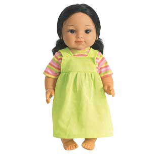 "16"" Multicultural Toddler Doll - Hispanic Girl - 1 doll"
