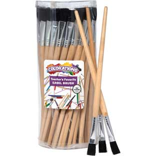 Colorations® Teacher's Favorite Easel Brush - Set of 60