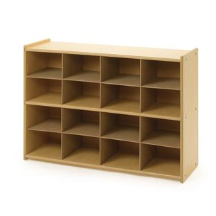 "Angeles Value Line Cubbie Storage  36""W, Without Trays - 1 storage"
