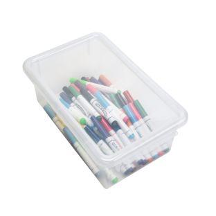 Clear Easy-Label Bin Lid - 1 lid