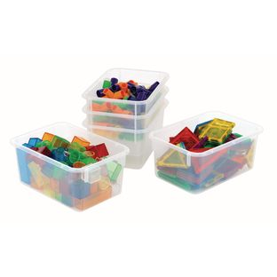 Clear Angeles Value Line Cubbie Trays - 1 cubbie