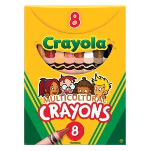 Crayola Multicultural Crayons - Set of 8