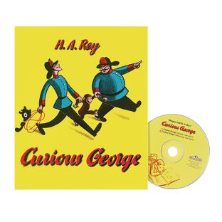 Curious George Book and CD - 1 book, 1 cd