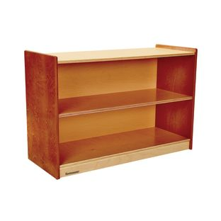 "Environments 24"" Forest Wood Straight Shelf Forest"