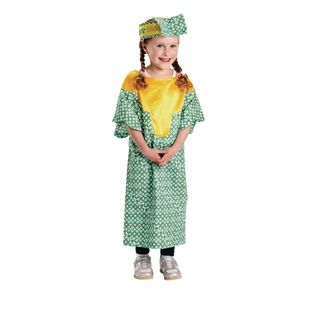 Excellerations African Girl Costume - 1 costume