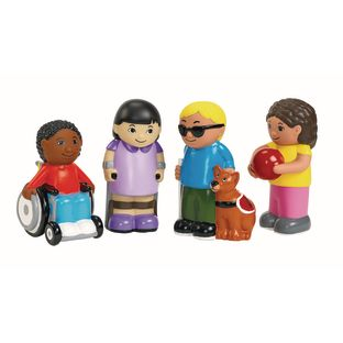 Excellerations Our Soft Inclusive Dolls Set of 4