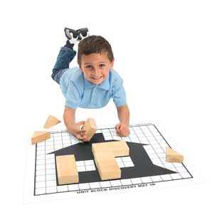 Excellerations Unit Block Discovery Mats - Set of 6