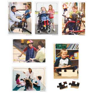 Excellerations Inclusion Puzzles - Set of 6