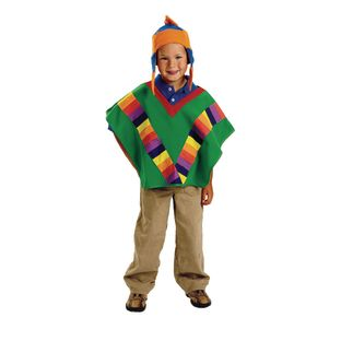 Excellerations Peruvian Boy Costume - 1 costume