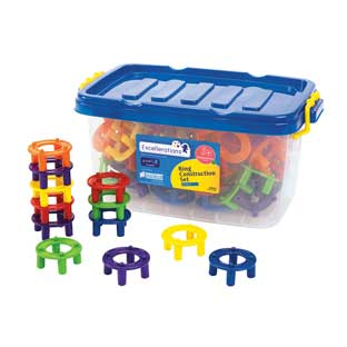 Excellerations Ring Construction Set - 90 Pieces