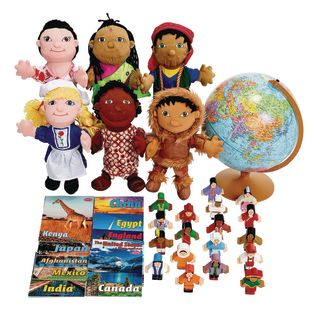 Excellerations World Culture Exploration Kit - 1 kit