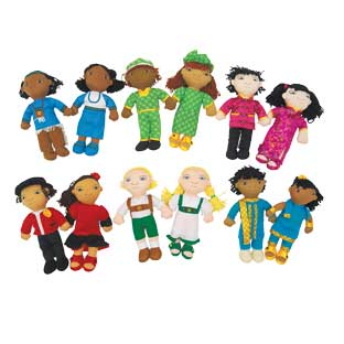 Excellerations World Friends Dolls - Set of All 12