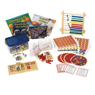 Excellerations Preschool Math Kit Counting and Numeracy - 1 kit
