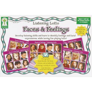 Listening Lotto Game - Faces and Feelings