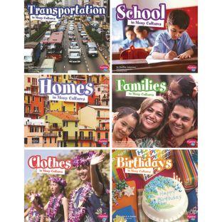 Life Around The World Books - 6 Titles