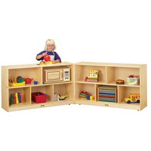 Mobile Fold-N-Lock Storage - Preschool - 1 storage