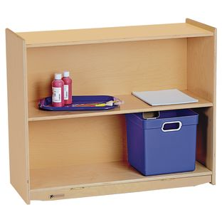 "MyPerfectClassroom 36""W Straight Shelf Mobile Storage - 1 storage"