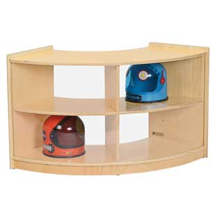MyPerfectClassroom Curved Storage Unit - 1 storage